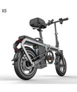 X5 Electric Bike 14inch Mini Electric Bicycle 48V10/20A city e bike 400W... - $652.41+