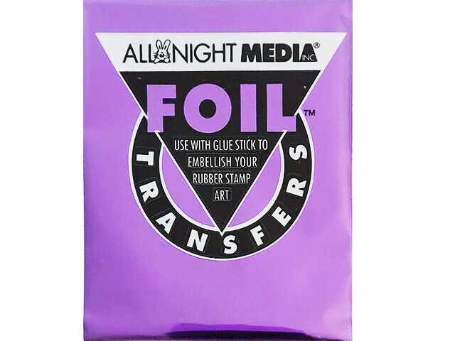 All Night Media Foil Transfer, Purple #72-PUR