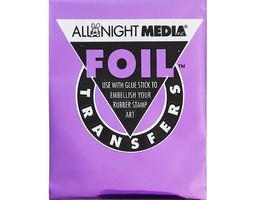 All Night Media Foil Transfer, Purple #72-PUR - $1.99