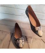 Lovmark Women's Slip On Shoes Flats Chaser 12 Navy Floral Size 8 - $21.95