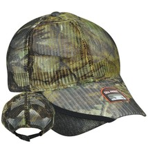 NEW RealTree APG Camouflage Adjustable Hunting Hat FULL MESH Turkey Call... - $9.89