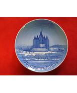 "1955  BING & GRONDAHL B&G CHRISTMAS PLATE  "" KALUNDBORG CHURCH "" - $39.00"