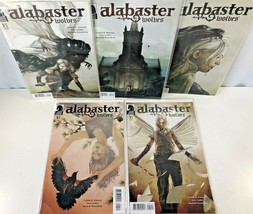 5 Alabaster Wolves Comic Book Run Lot 1-5 Graphic Novel Set Dark Horse VF 2012 - $18.80