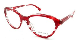 Alain Mikli Rx Eyeglasses Frames A03076 004 54-18-140 Paint Red Made in Italy - $125.44