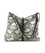 LONI Womens Shoulder Cross-body Hobo Bag Leopard Zebra Faux Snakeskin An... - $36.62