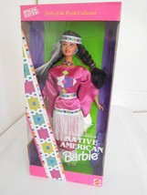 1994 Native American Barbie Indian 3rd Edition Dolls of the World NRFB - $12.99