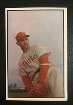 1953 Bowman Color #158 Howie Fox Philadelphia Phillies Baseball Card - $14.80