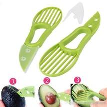 Multifunctional 3-in-1 Avocado Slicer Fruit Cutter, Pack of 2 - $29.65