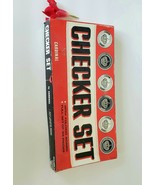 Checker Set by Cardinal Board Game - $7.00