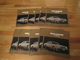 10 Dodge St Regis 1980 car Dealer showroom Sales Brochure  - $29.99
