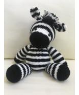 Zebra Amigurumi - $40.00