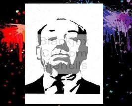 Alfred Hitchcock Airbrush Stencil,Template - $10.99