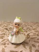 Three Vintage Napcoware Miniature Bone China Angels Figurine Tiny Angels - $18.00