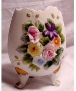 LEFTON CHINA HAND PAINTED EASTER EGG TRINKET JAR - $10.88