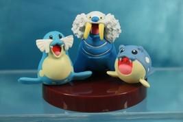 Tomy Pokemon AG Zukan P6 1/40 Scale Real Figure Spheal Sealeo Walrein - $99.99