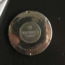 Vintage WITTNAUER 2000 Stainless Watch Case Back Part - $18.97