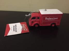 Kurt Adler Holiday Christmas Ornament Budweiser Red Truck Brand New NWT - $16.78