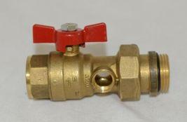 Bianchi F lli 422MC0060F MF Brass Ball Valve PN25 Pipe Union Oring Thermometer image 3