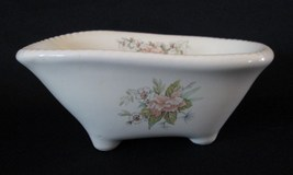 VB Athena California Pottery Floral Bathtub Soap Dish - $5.95