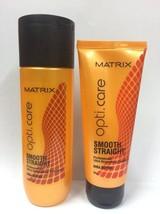 Matrix OptiCare Smooth Shampoo 200ml X 5 & Conditioner 98gm X 5 (TOTAL 5 SET ) - $107.79
