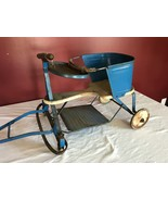 Antique Taylor Tot Pull Baby Stroller Wagon Buggy w/RARE Pull Handle - $69.95