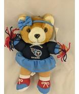 "Tennessee Titans Cheerleader Bear Plush 11"" Good Stuff Stuffed Animal Toy - $7.15"