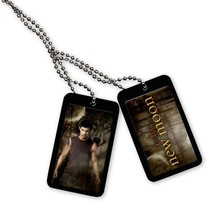 The Twilight Saga New Moon Dog Tag - Jacob and Wolf Necklace Brand NEW! - $13.99