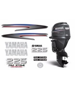 Yamaha 225 4 Stroke HP Decal Kit Outboard Engine Graphic 225hp Sticker U... - $74.20
