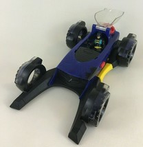 Imaginext DC Super Friends Batman Transforming Batmobile Toy with Figure... - $32.62