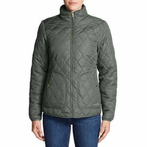 Eddie Bauer women's Jacket Olive Medium #773 - $29.99