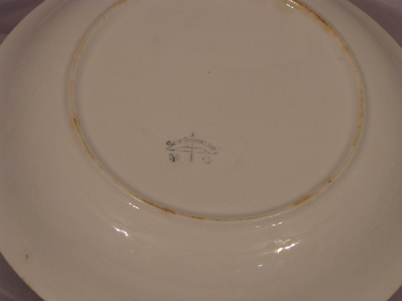 Harker Pottery Serving Bowl