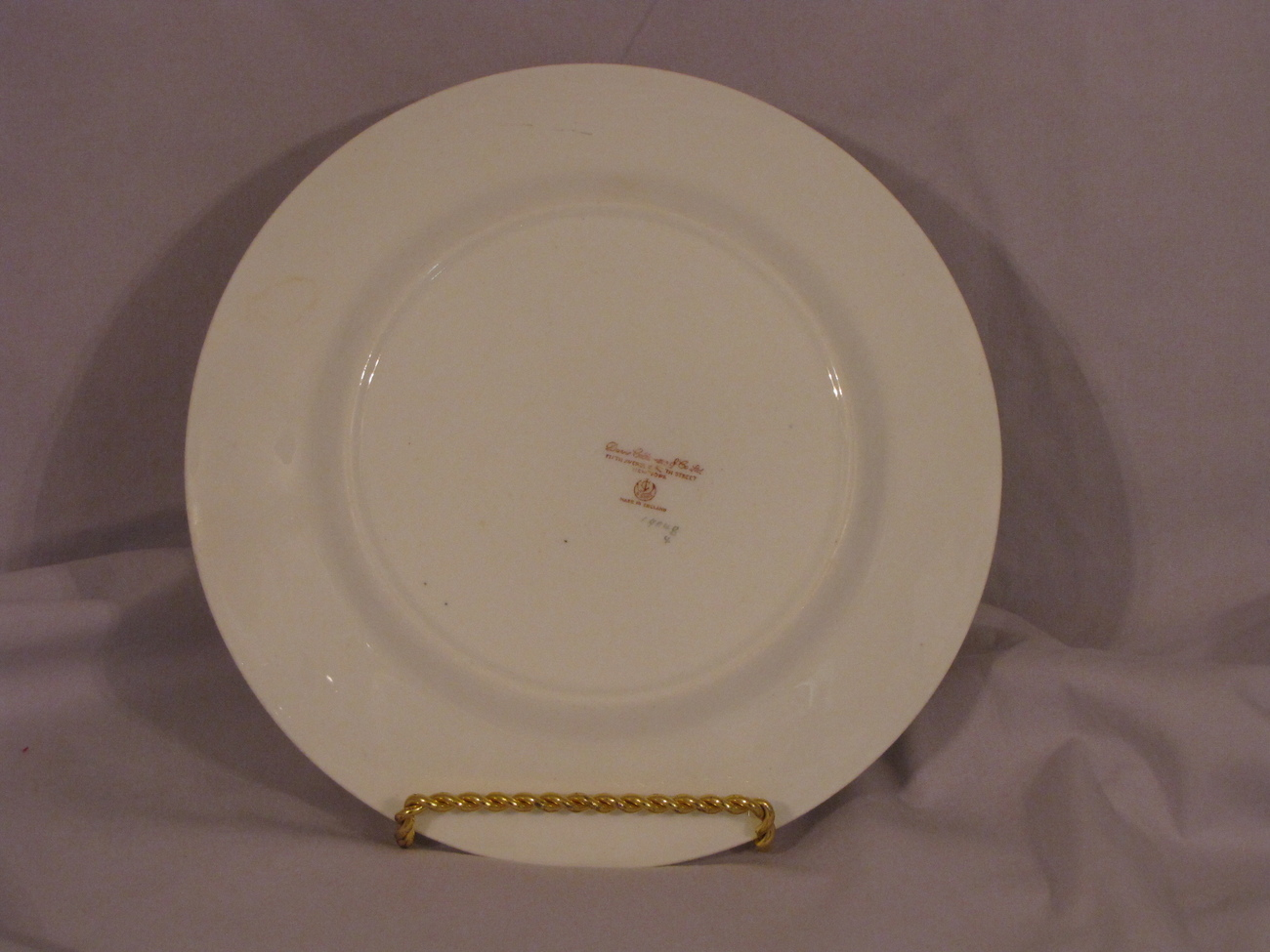 George Jones & Sons Luncheon Plate