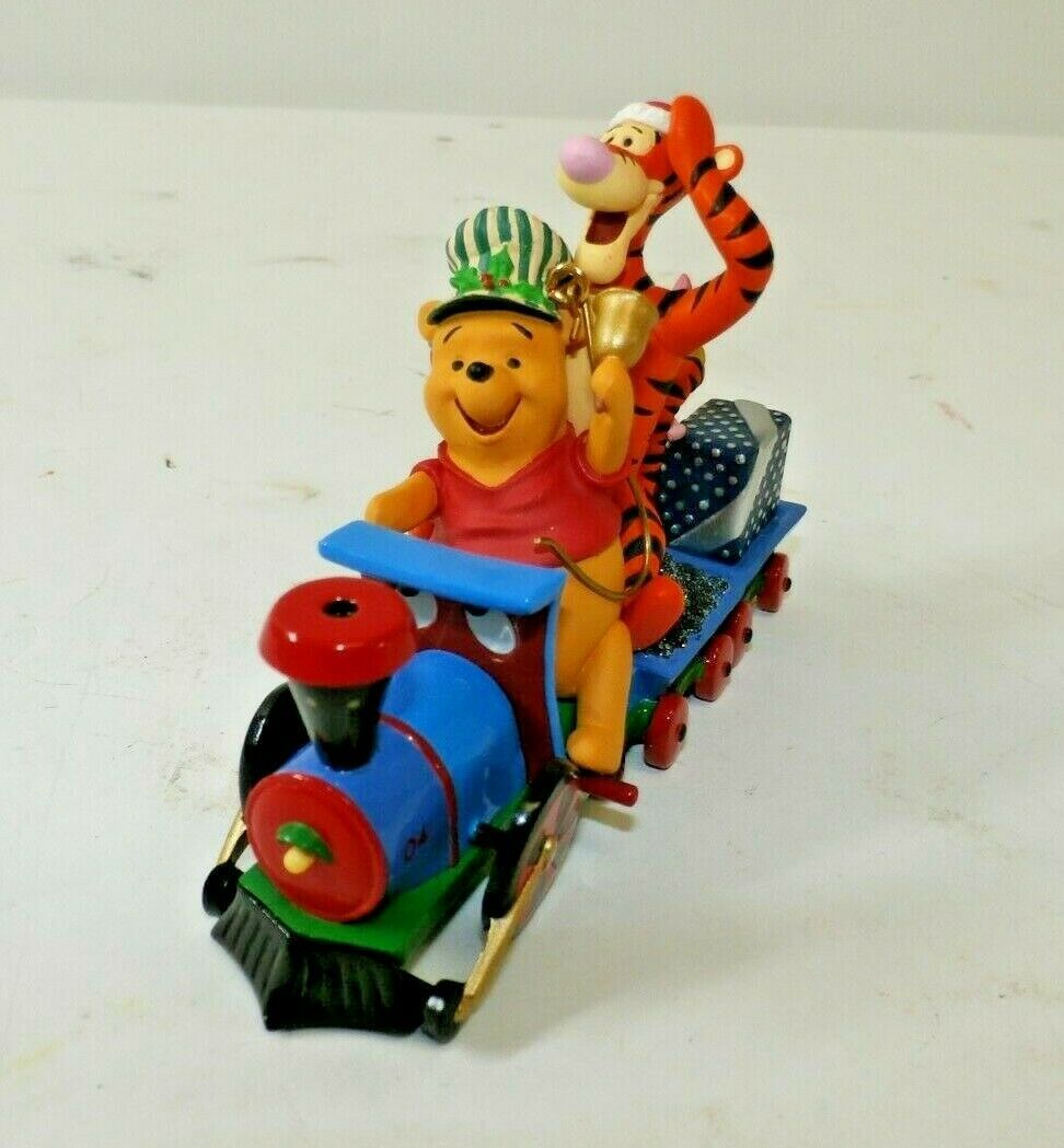 Primary image for Hallmark 100 Acre Express Winnie The Pooh 2004 Keepsake Ornament QXD5034