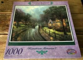 Thomas Kinkade 1000 Piece Hometown Memories 1 Jigsaw Puzzle - $14.85