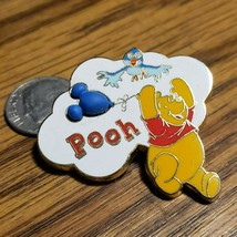 Disney Pin WDW WInnie the Pooh holding a Mickey Shaped Balloon Free-D OA... - $19.34