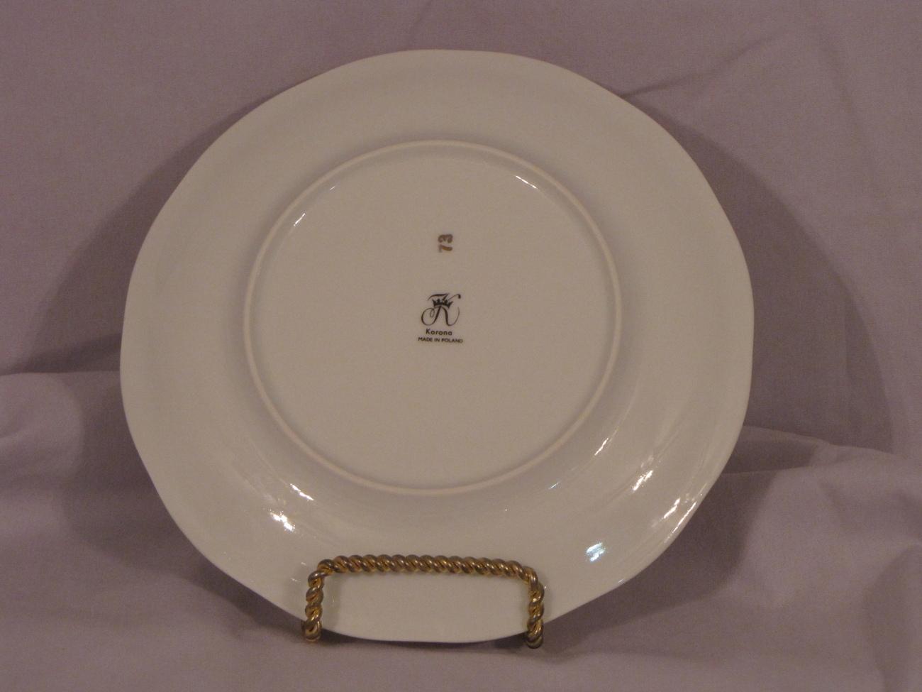 Korona Salad Plate Polish China