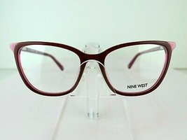 Nine West NW 5162 (620) Burgundy / Pink 53-17-135  Eyeglass Frame - $59.35
