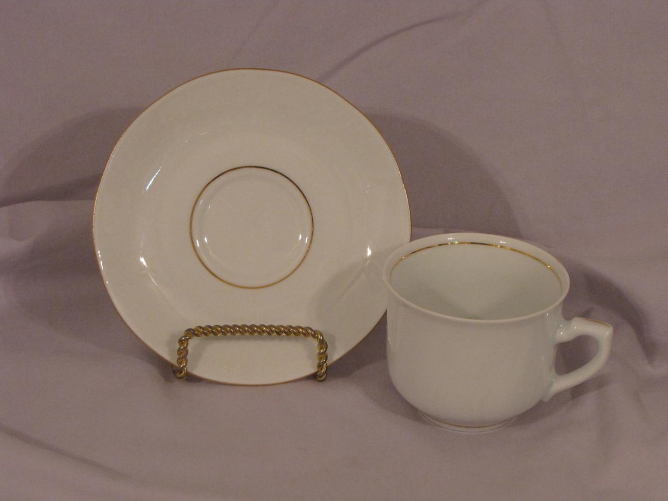 Polish cup saucer