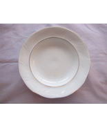 Polish Korona Rimmed Soup Bowl Poland Dinnerware China - $10.95