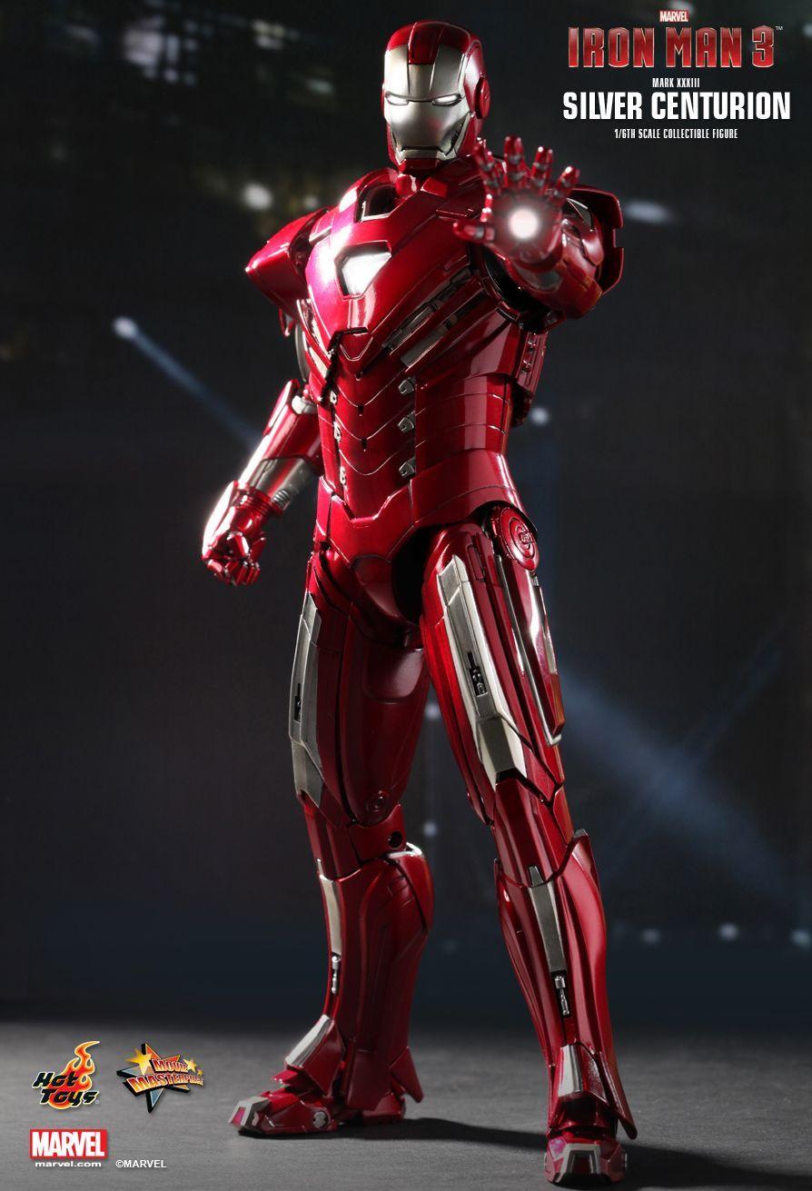 Iron man 3 mark xxxiii silver centurion 0