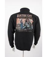 Harley Davidson Men's Sweatshirt Medium Spellout Black Electric City Scr... - $49.49
