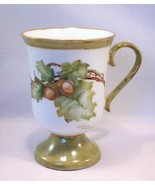 Hand Painted Porcelain Mug - Artist Signed Helen Hennessy - Beautiful Ac... - $21.99