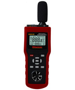 Environmental Tester Wind Speed Air, sound, Humidity,luminosity ambient ... - $249.99