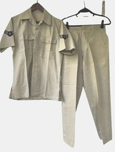 Vintage Vietnam War United States Air Force USAF Summer Shirt Trousers Set 1961 - $80.99