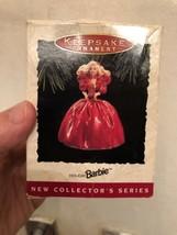 Hallmark Keepsake Vintage 1993 Holiday Barbie Ornament 1st Series Collec... - $9.05