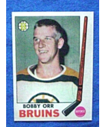 1969/70 O-Pee Chee Hockey #24 Bobby Orr [Boston Bruins] Reprint - $3.90
