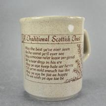 Traditional Scottish Toast England Coffee Mug Cup - $6.75