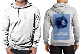 Stephen Hawking Quotes Classic Hoodie Men's White - $30.85+