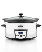 Bella 13973 5-Qt Programmable Polished Stainless Steel Slow Cooker - $75 - $33.17