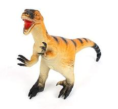 "ETS Toys Large Toy Velociraptor Dinosaurs Miniature Figure Figurine 18.8"""